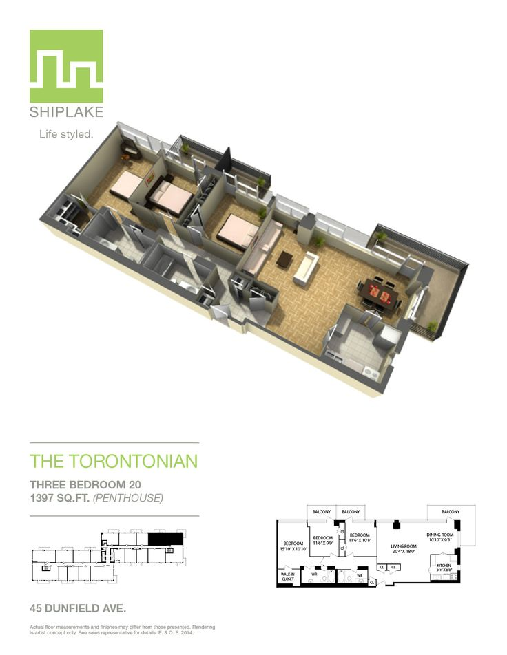 Ever wondered what a #suite looks like at the Torontonian Apartments? This #floorplan of a typical suite will address all your questions. www.shiplake.com #lifestyled