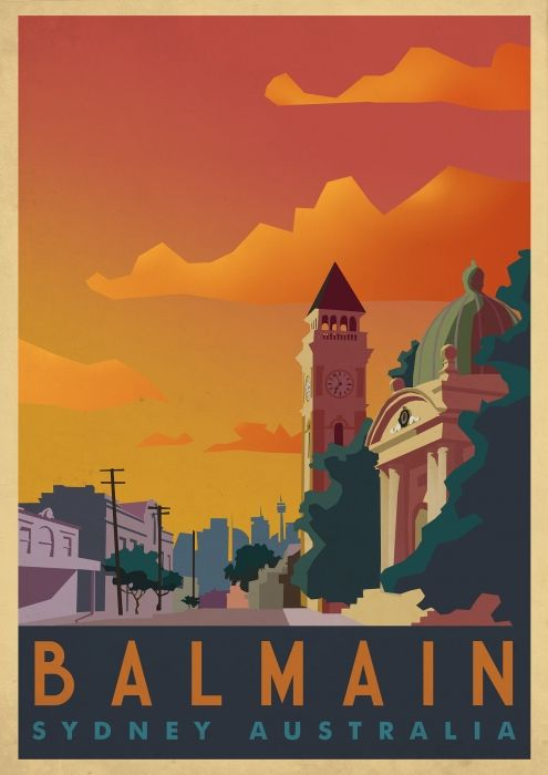 Balmain | Jeremy Lord - Illustration and Design - Sydney Australia