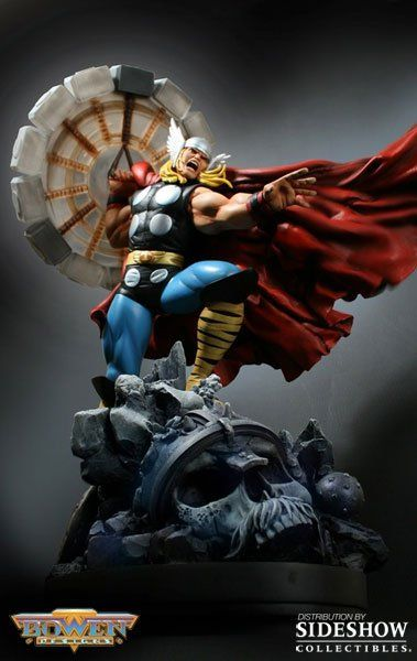 Thor statue from sideshow collectibles