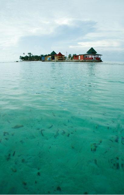 El acuario, San Andrés