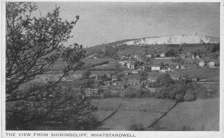 Crich Cliff overlooking Whatstandwell