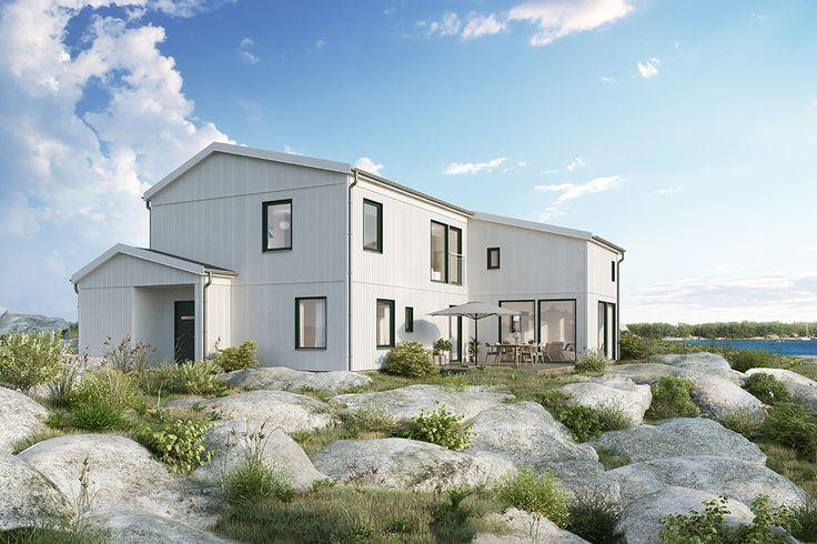 Oavsett hur din husdröm ser ut kan Trivselhus hjälpa dig att förverkliga den. Nu har vi utvecklat ännu fler möjligheter att skapa och formge moderna hus...