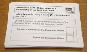 Voters report being turned away from EU referendum polls