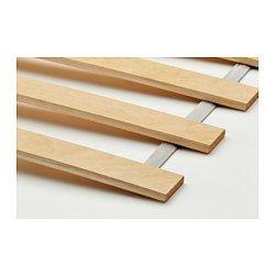 IKEA - LURÖY, Lattenbodem, 90x200 cm, , 17 latten van gelaagd berken passen zich aan aan het lichaamsgewicht en verhogen de volgzaamheid van de matras.Gratis 25 jaar garantie. Raadpleeg onze folder voor de garantievoorwaarden.