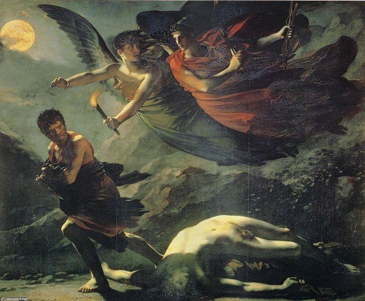 "Pierre-Paul Prud'hon, Justice and Divine Vengeance Pursuing Crime, 1808 """