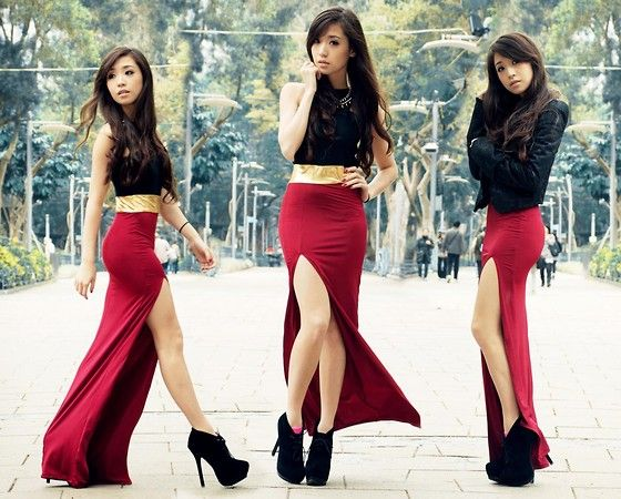 Style Staple Dress, Romwe Jacket | Holiday High (by Kryz Uy) | LOOKBOOK.nu...if I could EVER pull this off