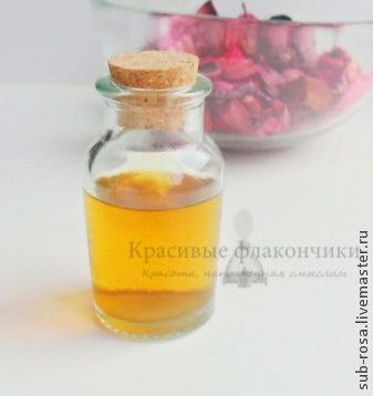 Ароматическое масло (инфузия) своими руками - Ярмарка Мастеров - ручная работа, handmade