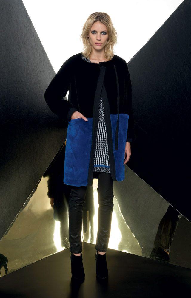 Look 03 _ 936 Fur Coat . 359 Dress . 468J Jeans . 294P Shoes