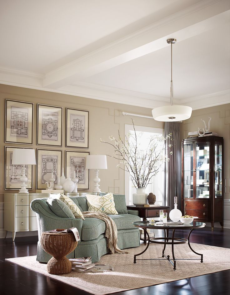 Living Room | Studio 455 | Thomasville Click On The Image To Shop All Items  From