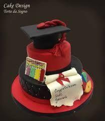 Risultati immagini per cake design torte di laurea