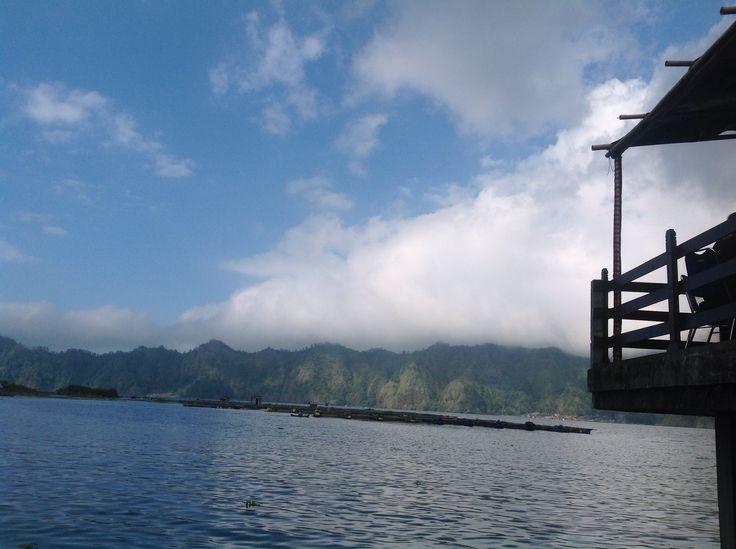 Batur Lake.