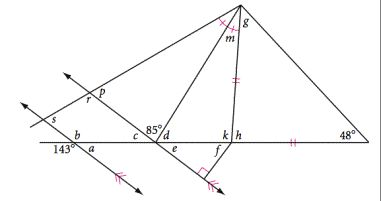 Triangle Missing Angle Worksheet
