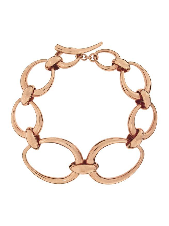 Gold rose toro bracelet