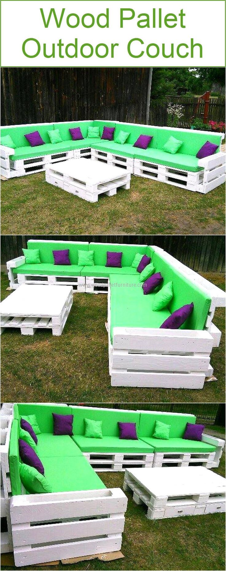 Best 25 pallet outdoor furniture ideas on pinterest - Diy pflanzenwand ...