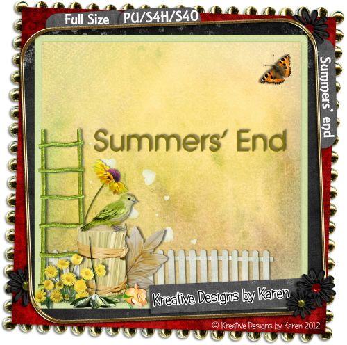 Summer's End By Kreative Designs by Karen