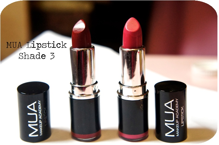 ♥ MUA Lipstick Shade 3 Review