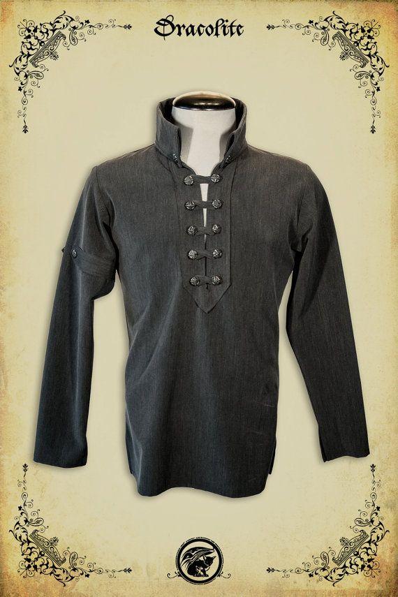 Abbigliamento camicia medievale di Gregoire per di Dracolite