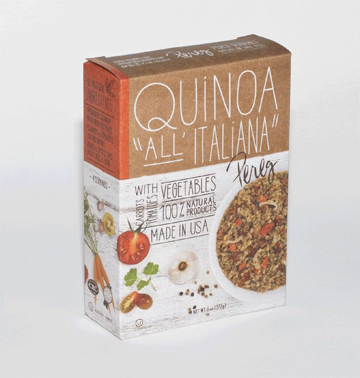 "Quinoa-Rice-Couscous line ""superfood"" mixes"