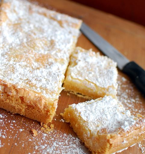 St. Louis Butter Cake Recipe | Straight from Missouri itself, we were gifted the gooey butter cake.