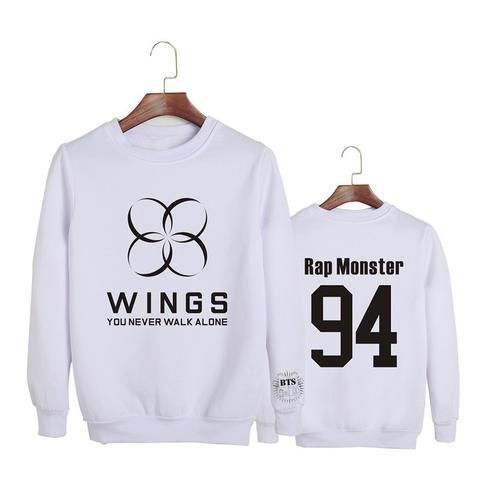 BTS Bangtan Boys You Never Walk Alone Wings Rap Monster 94 Fashion Sweatshirt  #BTS #Bangtan #Boys #You #Never #Walk #Alone #Wings #Rap #Monster #94 #Fashion #Sweatshirt #Kidolstuff