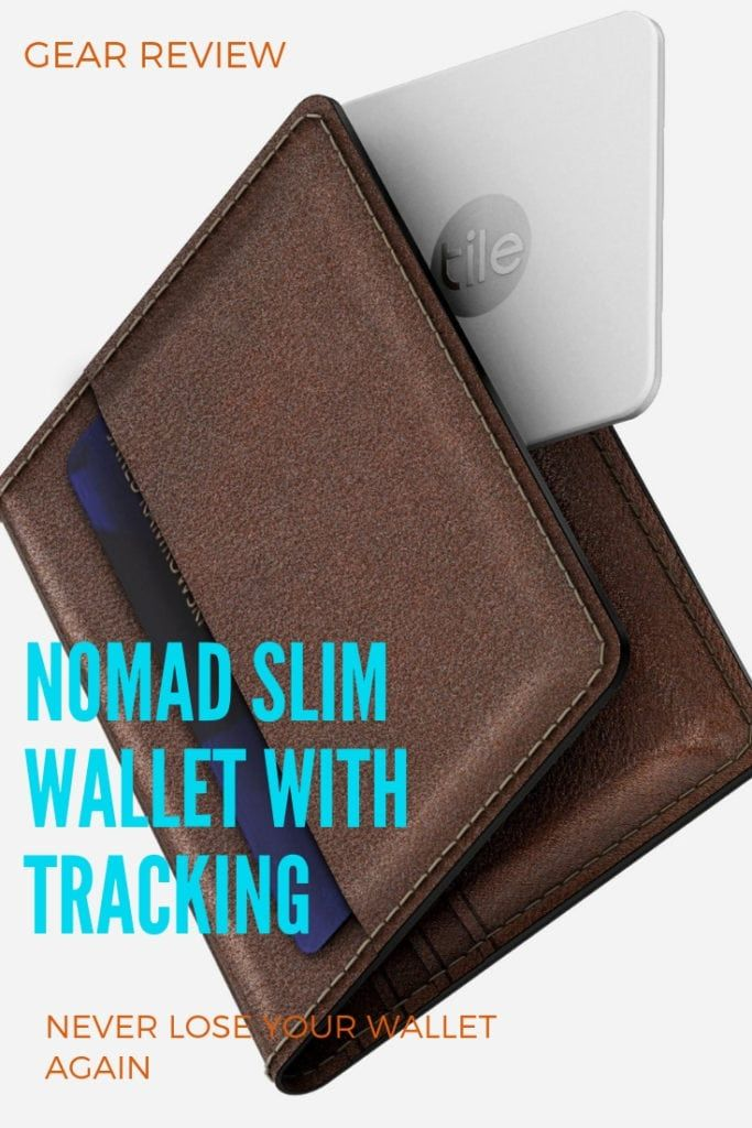 7701dc822bee NOMAD SLIM WALLET Review, best wallets for travel, Wallet with ...