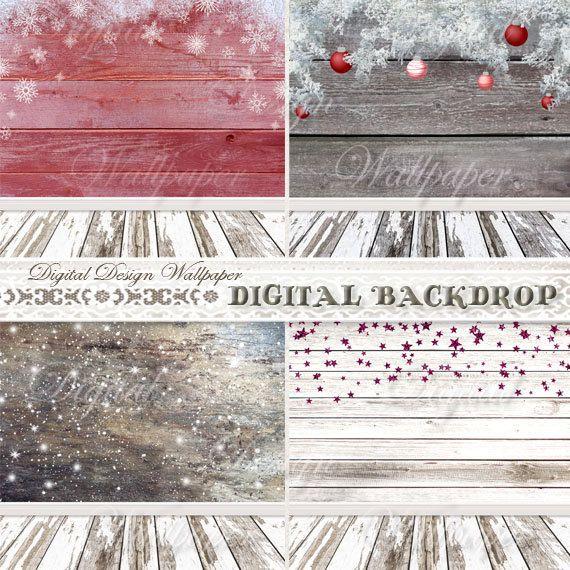 Christmas Digital BackdropChristmas Digital by DigitalDesignPaper