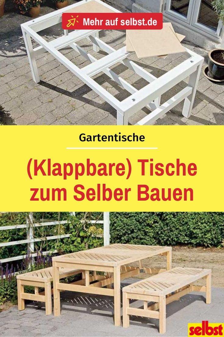 Gartentisch Bauanleitung Selbst De Gartentisch Gartentisch