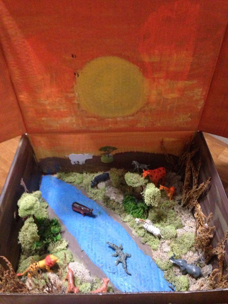 11 besten diorama project bilder auf pinterest - Schulprojekte ideen ...