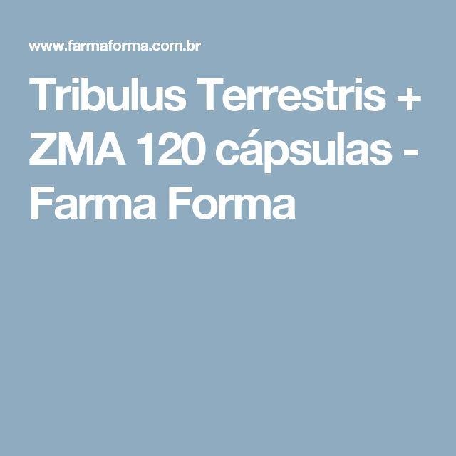 Tribulus Terrestris + ZMA 120 cápsulas - Farma Forma