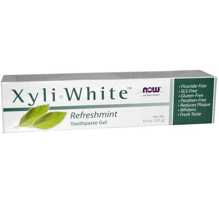 Now Foods, Solutions, Xyli-White Toothpaste Gel, Refreshmint, 6.4 oz (181 g)  From Iherb coupon code YUY952 -   Visit iherb specials for latest discounts: http://www.iherb.com/specials?rcode=yuy952