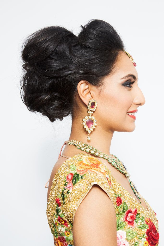 Let this stunning Indian wedding hair and makeup look inspire your bridal beauty!