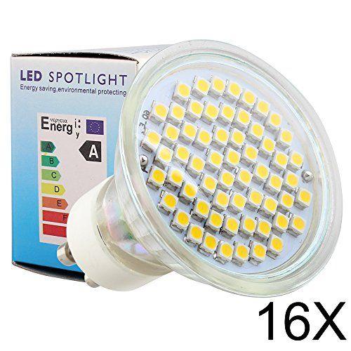 http://ift.tt/1YrNbtE ELINKUME 16Stücke GU10 LED Lampe 3.5W WarmWeiß warmweiss 380LM 230V SMD LED Leuchtmittel ! salesviiko@