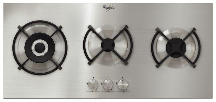 Grande offerta per AKT 775 IX Whirlpool, il piano cottura carrozzato, in acciaio dal design rigoroso e lineare, con 3 bruciatori gas in linea (uno tripla corona, uno semirapido e uno ausiliario) con griglie d'appoggio in ghisa. http://www.outletarredamento.it/elettrodomestici/elettrodomestico-whirlpool-piano-cottura-acm-437-ix-fg.html#lightbox[gallery]/0/ #whirpool #pianocottura #gas #offerteoutlet #outletarredamento