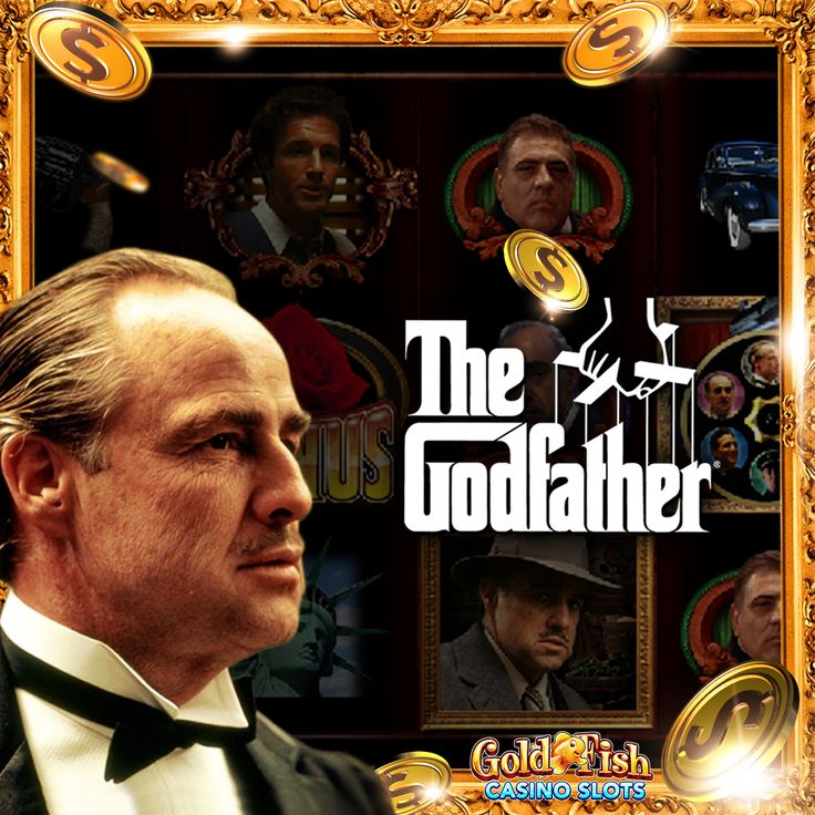 We'll give you a slot you can't refuse! Check out The Godfather, the newest slot at Gold Fish Casino!!! #goldfishcasino #bigwin #jackpot #slots #goldfishcasinoslots #slotaddict #mobileslots #casino #thegodfather #anofferyoucantrefuse #godfather