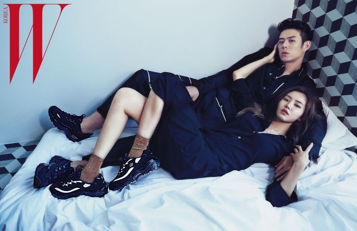 Hwang Seung Eon and Beenzino - W Korea Magazine September Issue ...