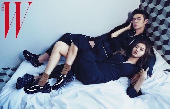 Hwang Seung Eon and Beenzino - W Korea Magazine September Issue ...