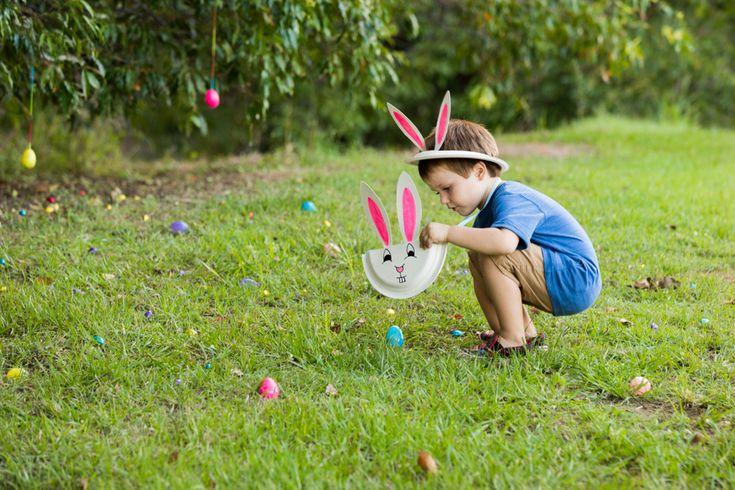 Easter Egg Hunt Ideas #easter #egg #autumn #backyard #beafunmum