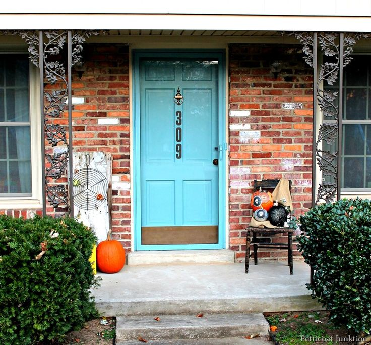 house numbers on front door | add painted house numbers to your front door reclaimed door