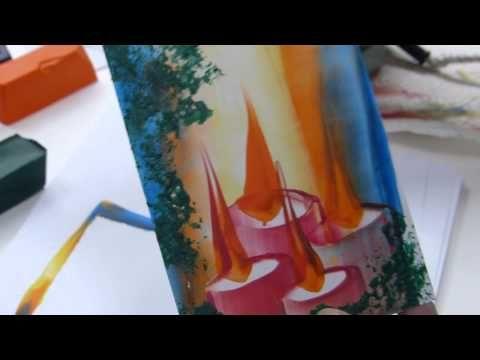 Weihnachtskarten - Kerzen - YouTube
