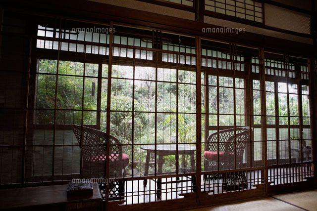 日本家屋の室内[11019001278]| 写真素材・ストックフォト・イラスト素材|アマナイメージズ