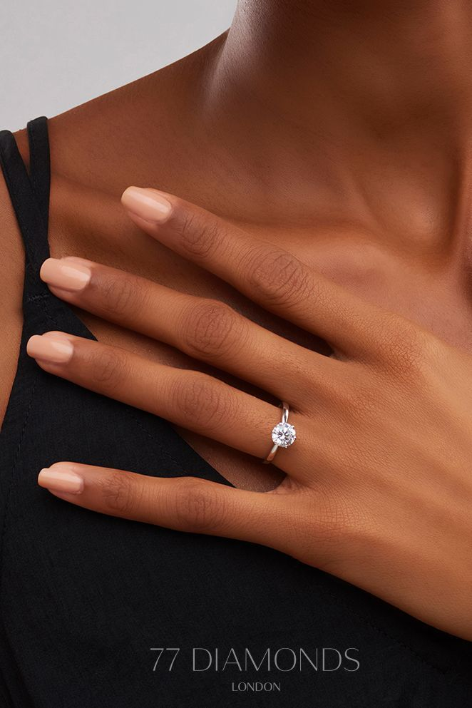 Our Grace ring says it all – shop today #engagementring #proposal #weddinginspir…