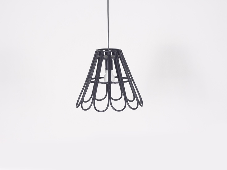 MALYA PENDANT LAMP  Simplicity at its best. We moulded thin  strips of rattan in the shape of a basket,then turn in around.  Designed by Alvin Tjitrowirjo | www.alvin-t.com