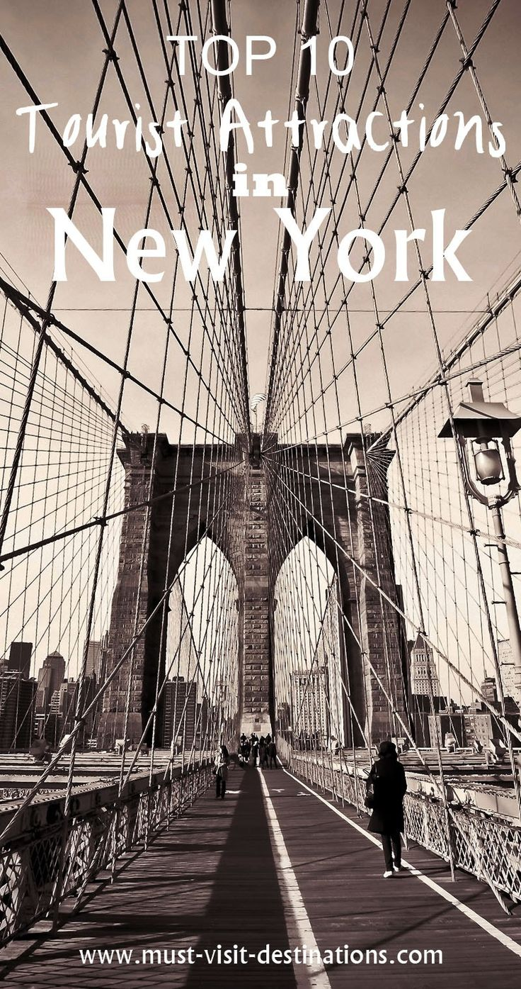 TOP 10 Tourist Attractions in New York City #newyork #travel