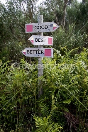 View of two wooden directional signs on a pole — Foto Stock #10560724