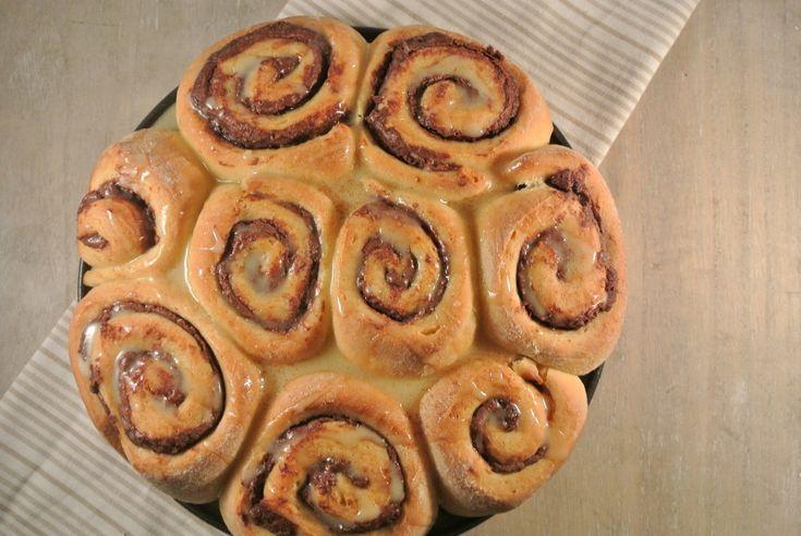 Kerstontbijt: Nutella-kaneelbroodjes - Lekker en Simpel