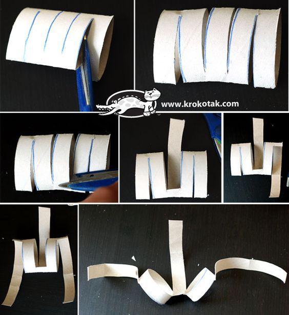 Sunglasses from empty toilet paper rolls   krokotak