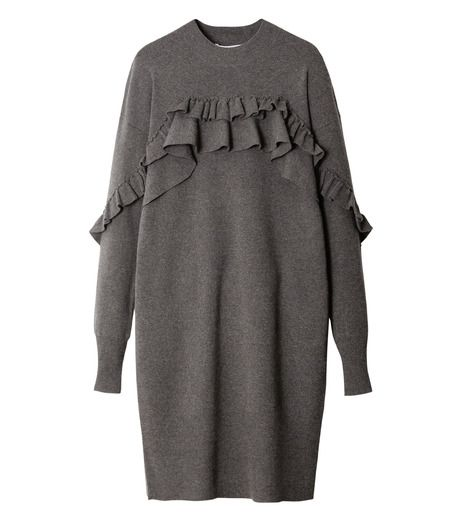 Simple woolen dress