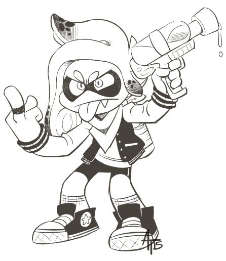 Splatoon Tumblr Nintendo Art Inkling Inklings