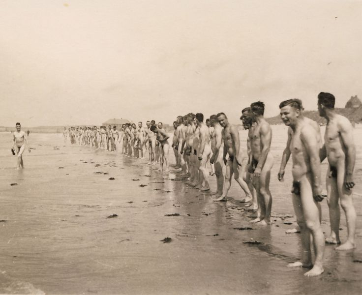 Vintage Nude Military Men Nude Men Vintage Photos Swimming-7382