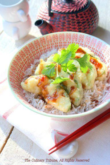 Avocado Tempura Rice Bowl